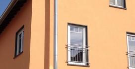 Außenkamin aus Edelstahl